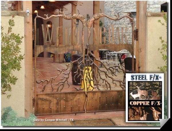 instant copper plating for steel